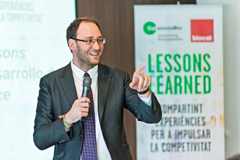 Imagen del CEO de la startup barcelonesa Devicare.