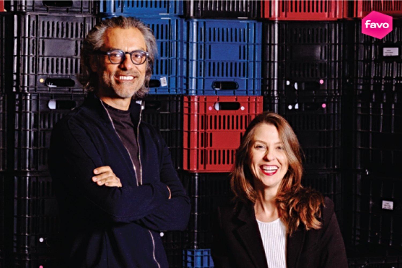 Alejandro Ponce y Marina Proença, directores de Favo.