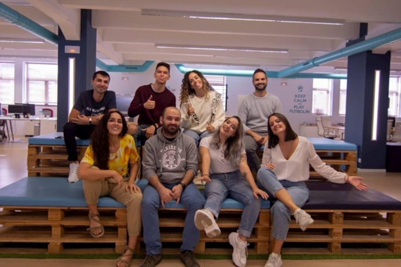 Equipo de la startup malagueña Froged.