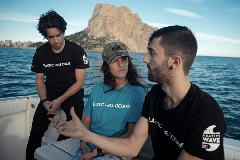 The Gravity Wave, startup dedicada al reciclaje de plástico arrojado al mar.