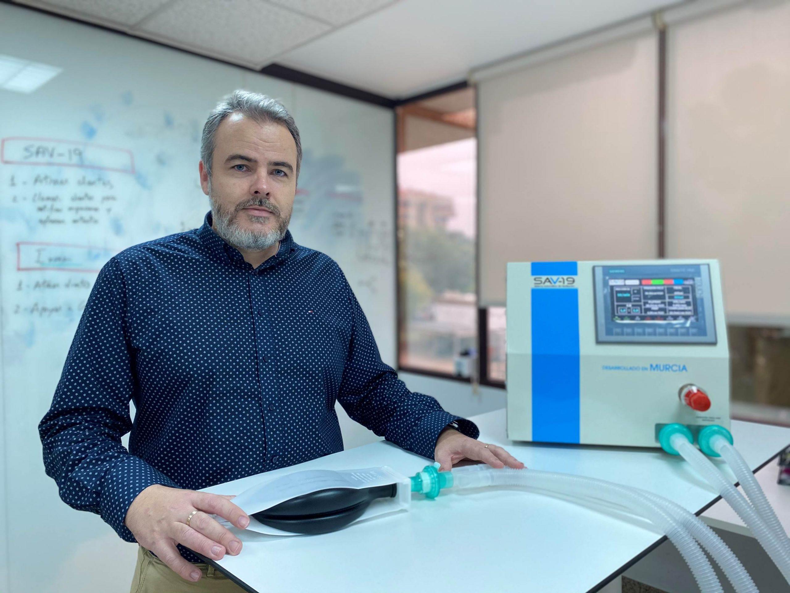 Inbentus, compañía de ingeniería, consultoría y tecnología médica, crea SAV-19, un ventilador mecánico automático para luchar con la Covid-19