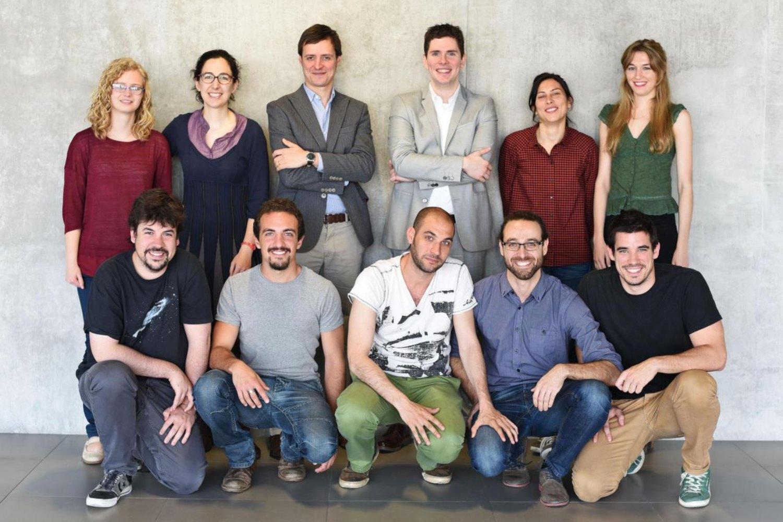 Foto de equipo de Made of Genes (2016).