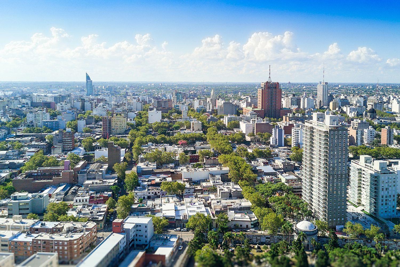 Imagen de Montevideo, capital de Uruguay.