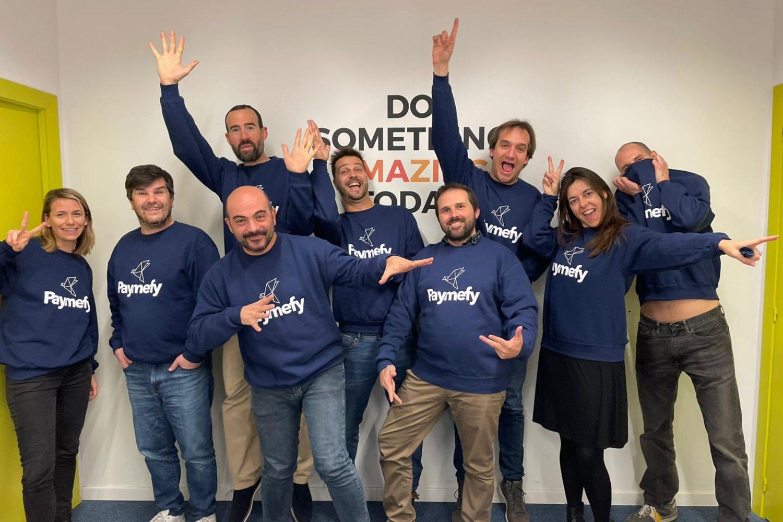 Foto de equipo de la startup Paymefy.