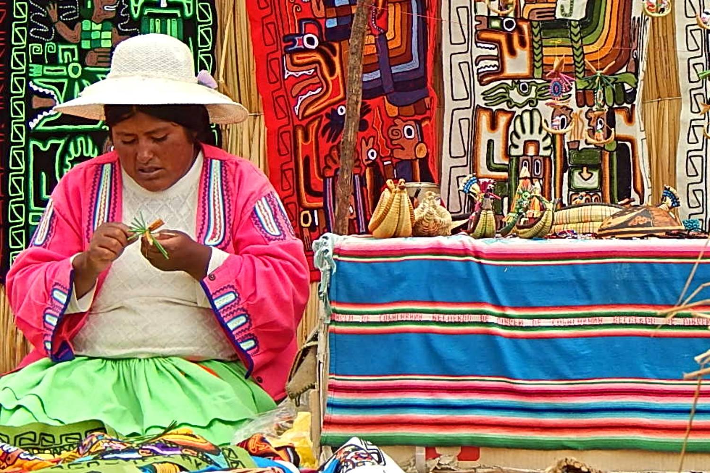 Artesanía en Perú.