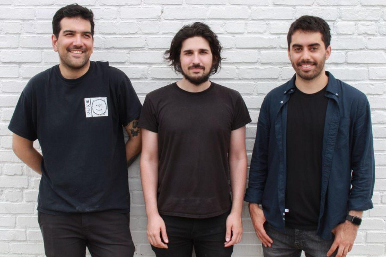 Alejandro Matamala, Anastasis Germanidis y Cristobal Valenzuela, fundadores de Runway.