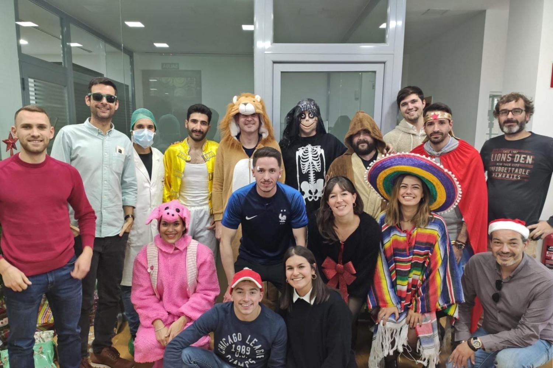 Foto de equipo de la startup valenciana Yeeply.