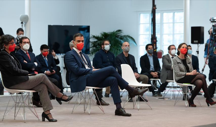 Sánchez presenta la 'Estrategia España Nación Emprendedora' con 50 medidas de apoyo al talento y al emprendimiento innovador