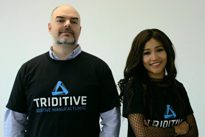 Equipo de la startup española Triditive.