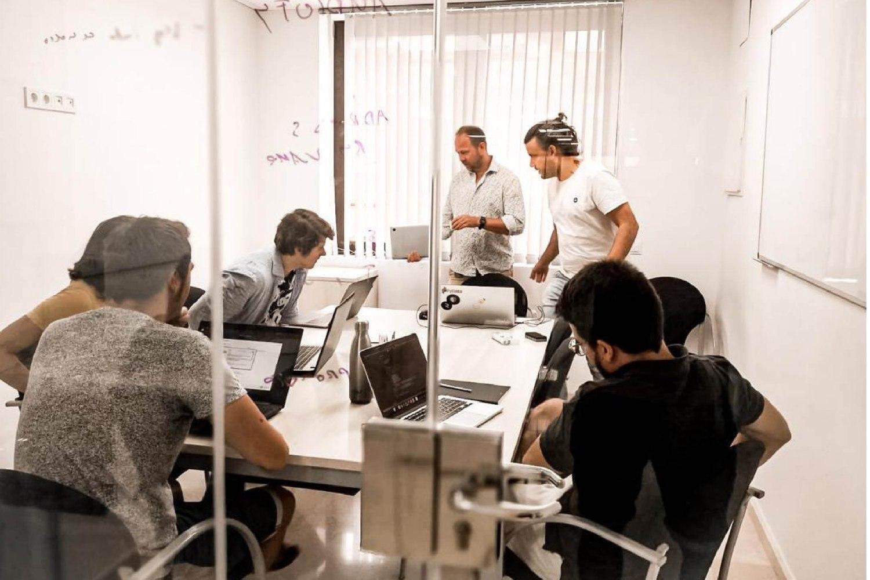 Equipo de la startup barcelonesa Aflorithmic.