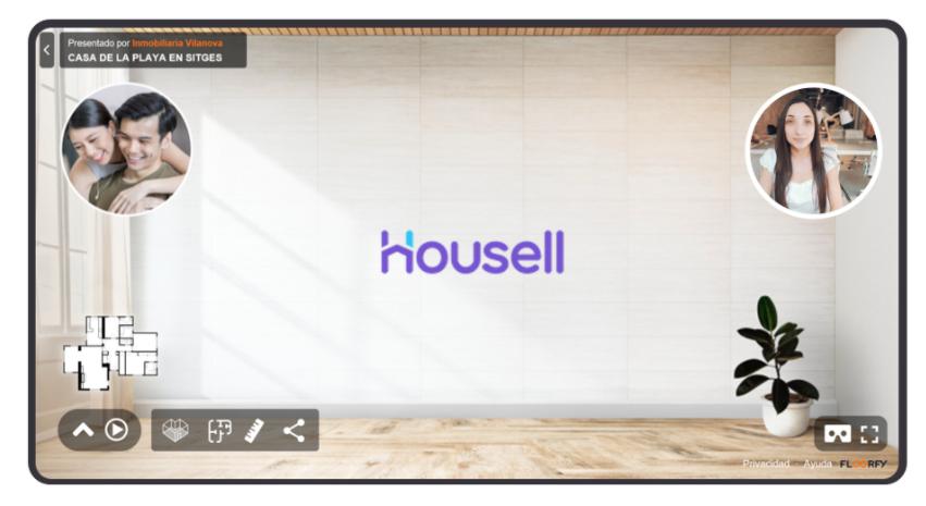 Housell y Floorfy se unen para optimizar las visitas virtuales a inmuebles