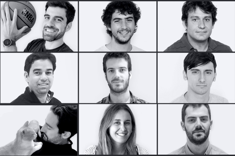 Parte del equipo de la startup española Lang.ai.