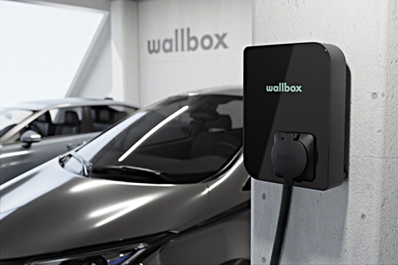 Imagen del cargador eléctrico de Wallbox.
