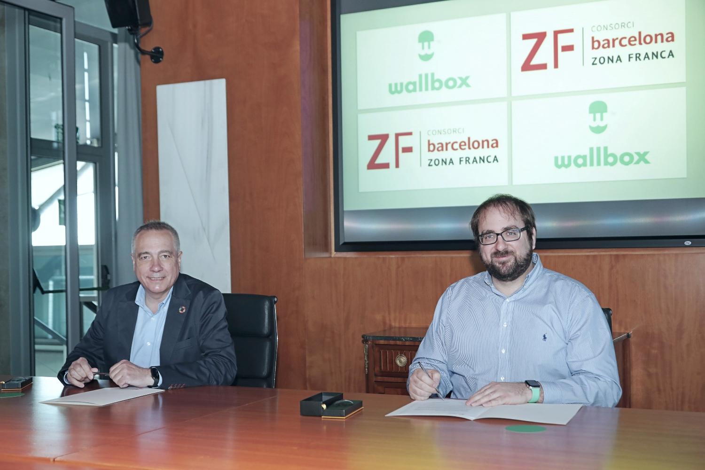 Wallbox instalará planta Zona Franca de Barcelona