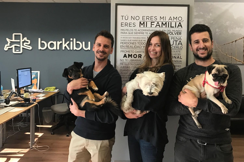 Fundadores de Barkibu.