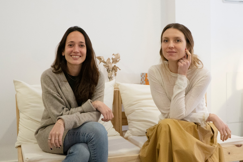 BCOME, Anna Cañadel y Alba García.