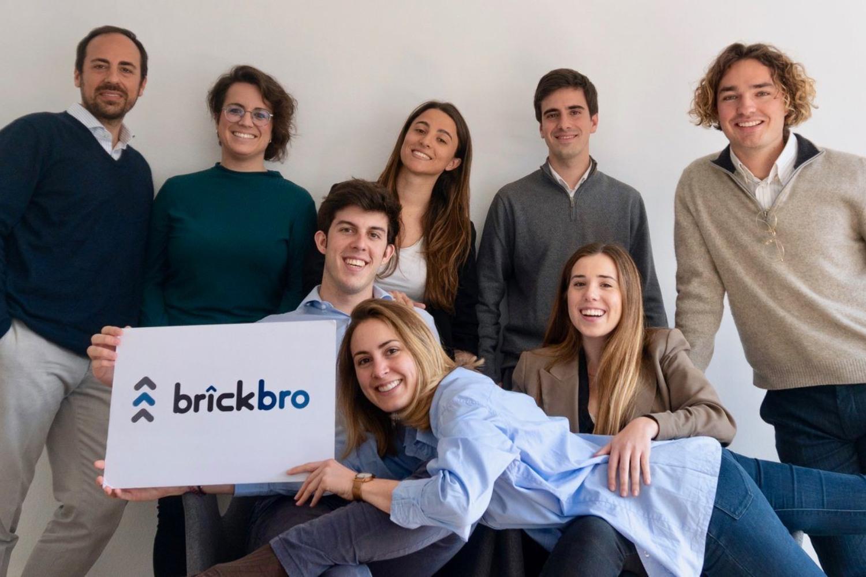 Equipo del proptech barcelonés Brickbro.