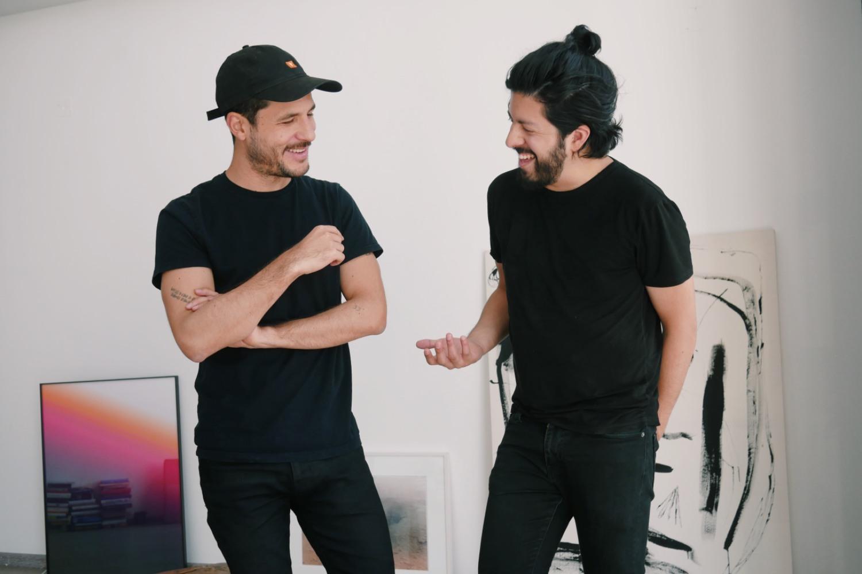 René Serrano y Norman Müller, fundadores de la fintech mexicana Fondeadora.