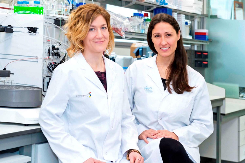 Marie-Eve Beaulieu y Laura Soucek, fundadoras de Peptomyc.