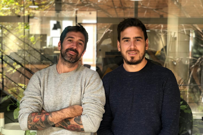 Nicolás Manrique y Nicolás Araujo, fundadores de Psquared.