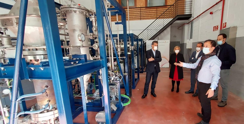 TECNALIA y H2SITE lanzan primer reactor de membranas
