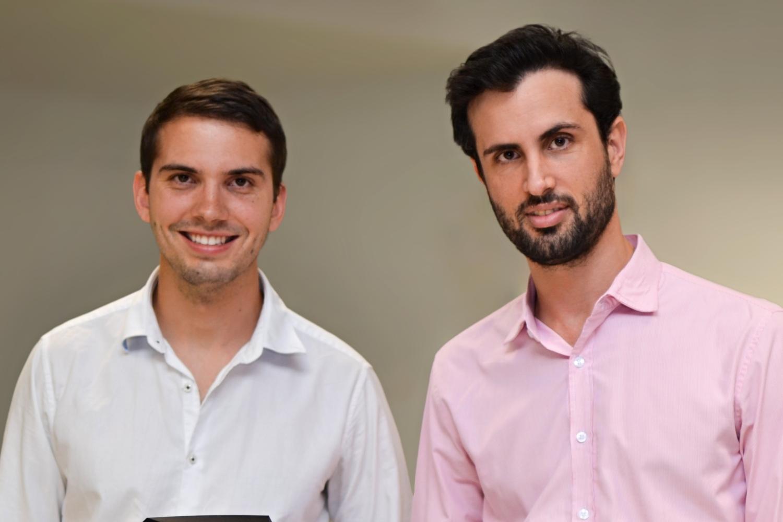 Tom Corlett y Carlos Zaccaro, fundadores de AdWALK.