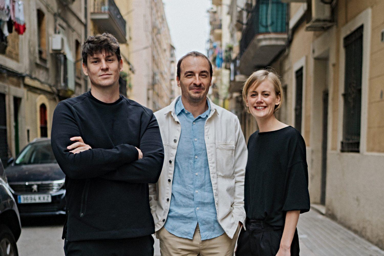 Brent Warner (CPO), David Marco (CTO) y Katrina Affleck (CEO, fundadores de Atravo.