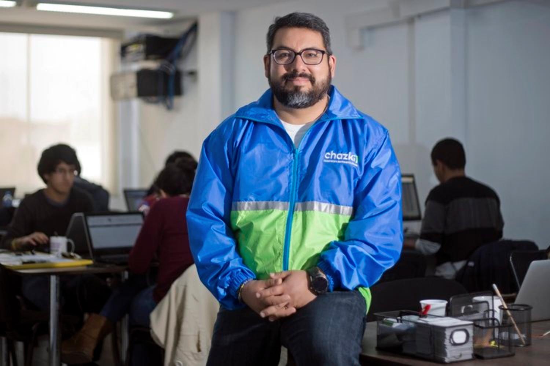Gonzalo Begazo, CEO de Chazki.