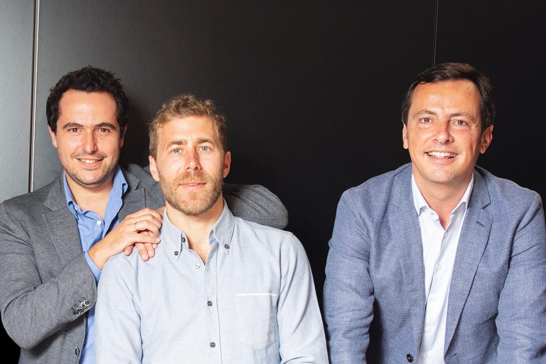 Pablo Gasalla, Raimundo Burguera & Iñaki Mediavilla, de Ritmo.