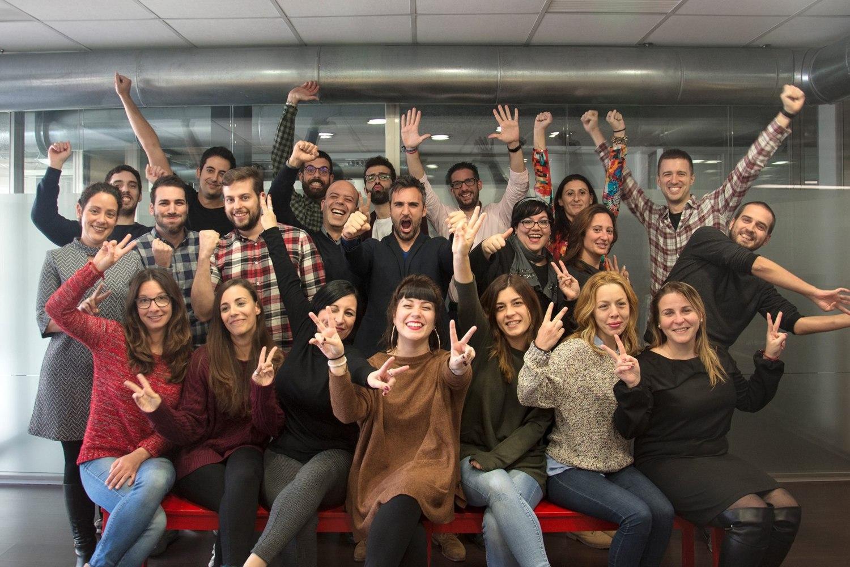 Equipo de la startup valenciana TIMP.
