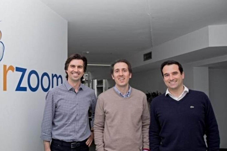 Alfonso de la Nuez, Javier Darriba y Xavier Mestres, fundadores de UserZoom.