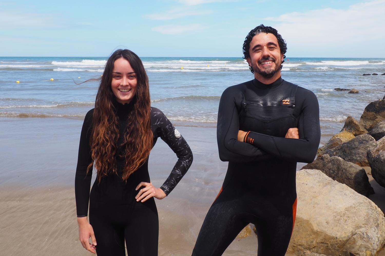 Naia Espinosa y Juanjo Torres, fundadores de Dryfing.