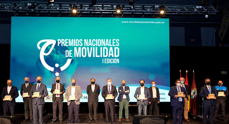 ganadores 1ªedición  Premios Nacionales de Movilidad