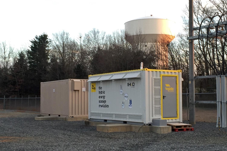 Instalación de la compañía energética HESStec