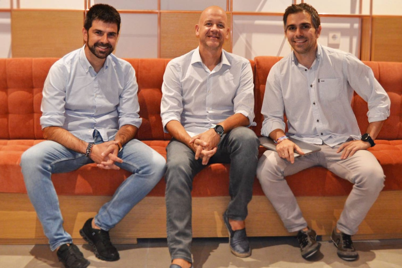 Rubén Ferreiro, Jeroen Merchiers y Guillermo Llibre, fundadores de Lanai Partners.