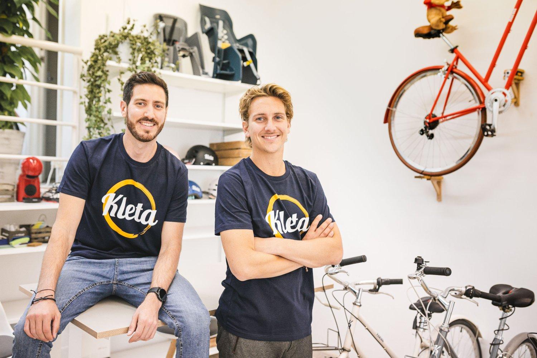Diego Casabe y Falk Siegel, Fundadores de Kleta.