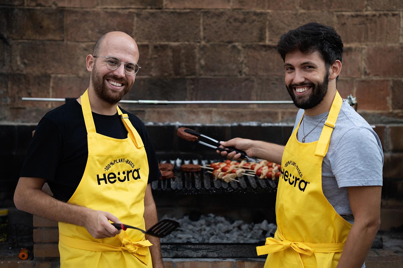Marc Coloma y Bernat Añaños, fundadores de Heura Foods.