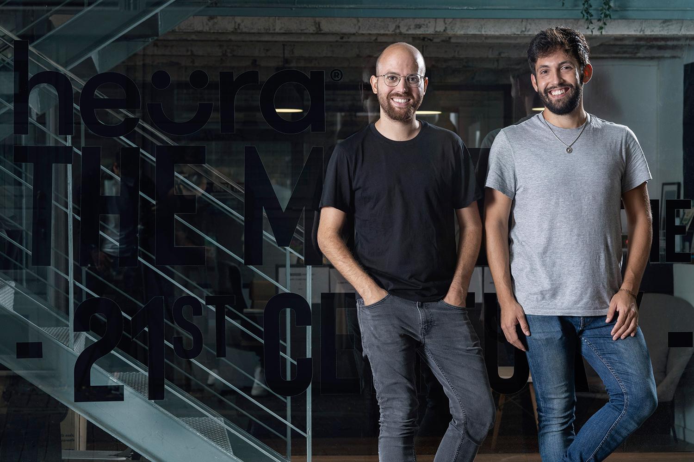 Marc Coloma y Bernat Añaños fundadores de Heura.