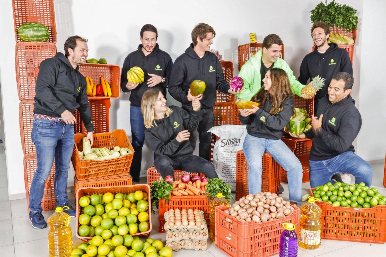 Equipo de la startup colombiana Frubana.