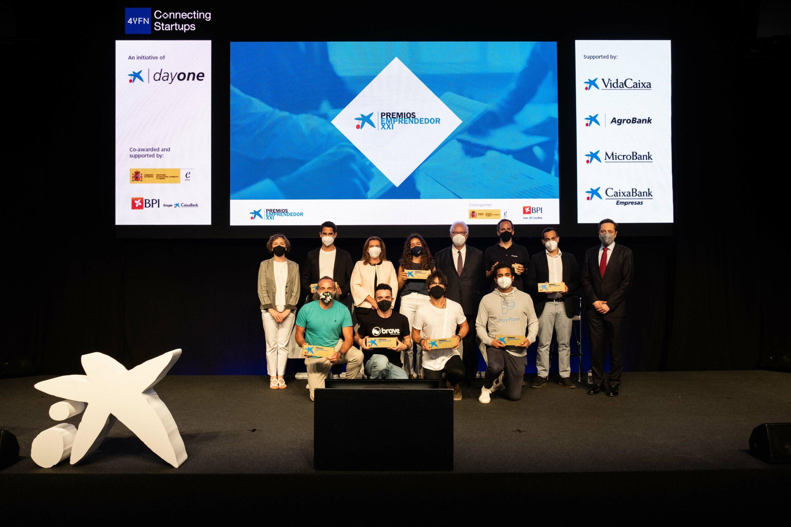Payflow, Tucuvi, Shotl, All Read, Brave Corporation, X1Wind, Agerpix y Orquest ganan los Premios EmprendedorXXI