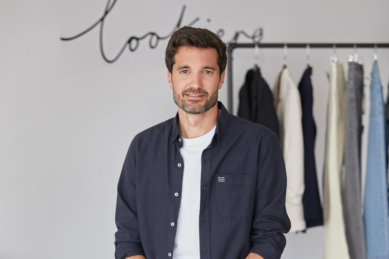 Oier Urrutia, fundador de la startup de moda Lookiero.