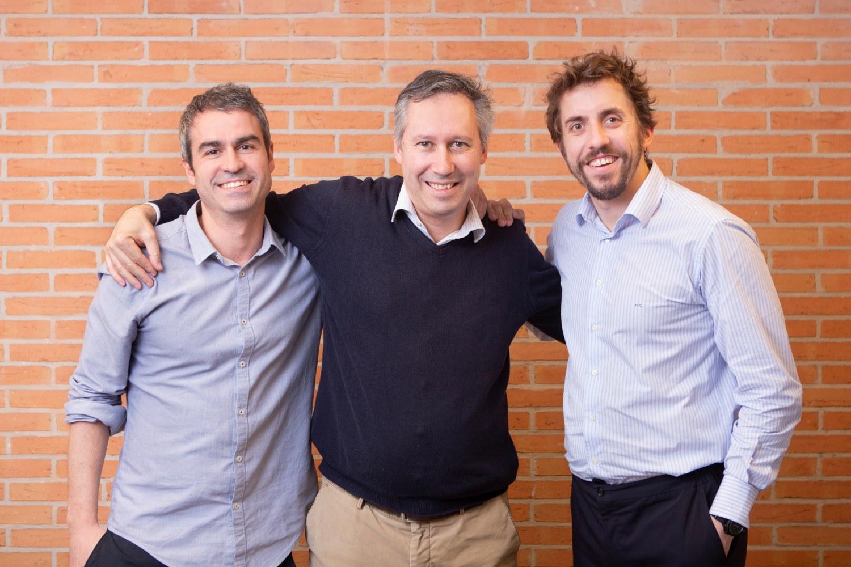 Imagen de los fundadores de la startup Meep.