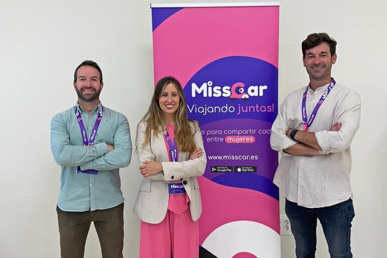 Imagen de equipo de la startup Misscar.