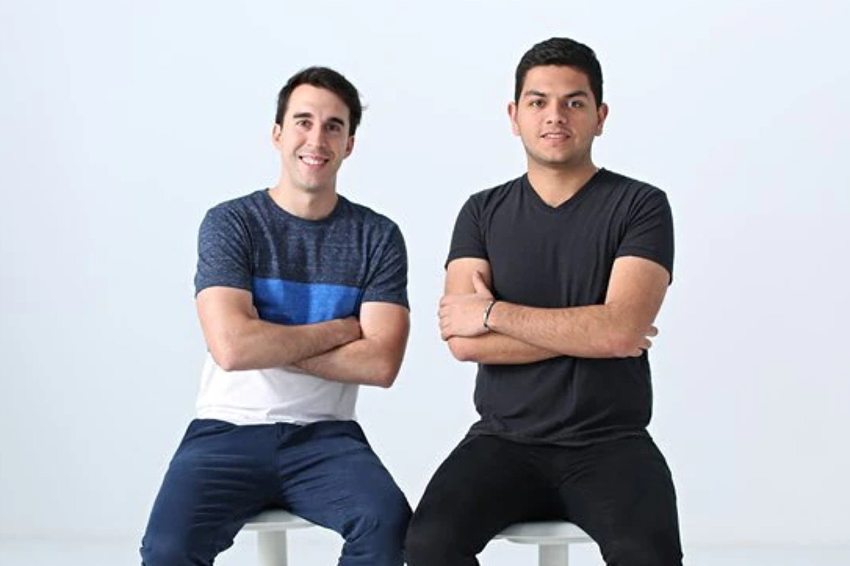 Alfonso de los Ríos y Maximiliano Casal, fundadores de Nowports.