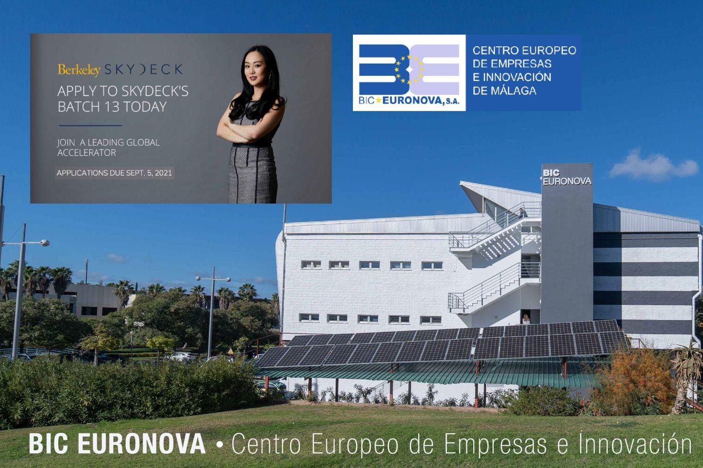 Imagen del programa de aceleración de BIC Euronova.