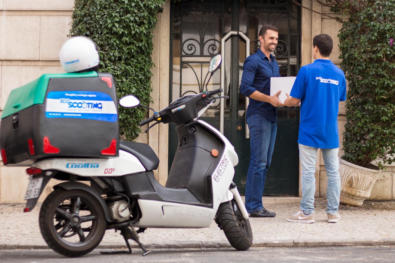 EcoScooting, empresa de delivery