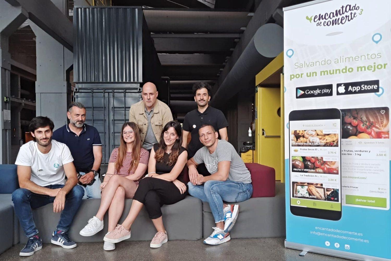 Imagen de equipo de la startup Encantado de Comerte.