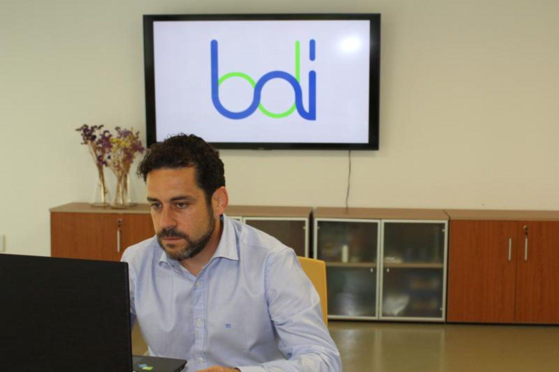 Imagen del CEO de BDI Biotech, Pablo Gutierrez.
