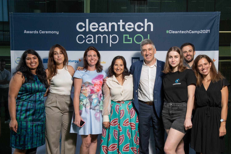 Imagen de Albedo en Cleantech Camp.