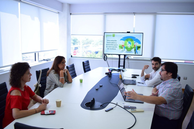 Imagen del equipo de GreenE, empresa en la que invierte el CDTI.